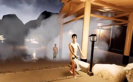 【狂気の沙汰】VR温泉でムフフな行為ができるゲームプレイ動画が話題