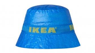 """IKEAの""""あのバッグ""""の素材を使ったハットが販売中 お値段なんと199円"""